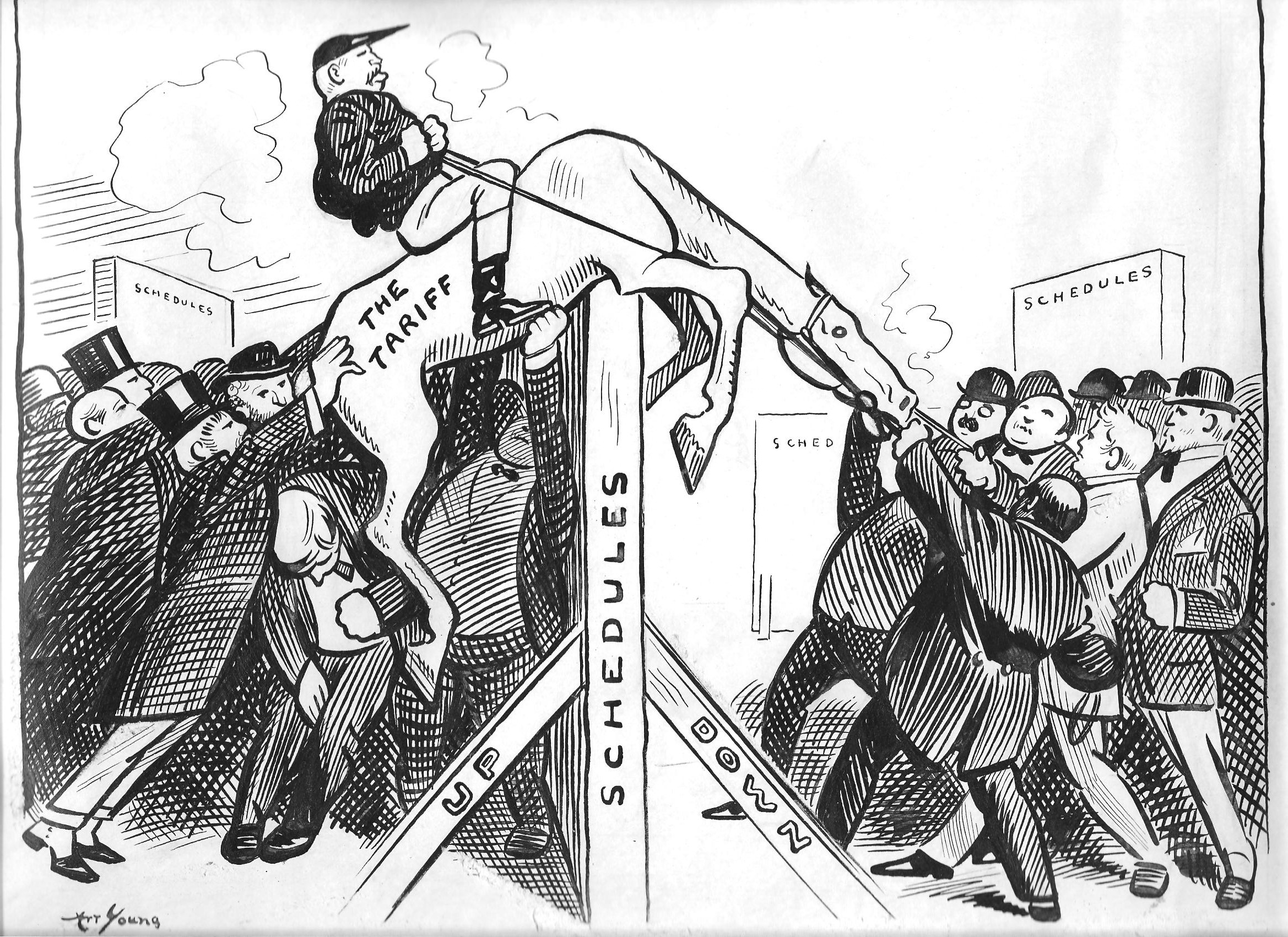 1918 cartoon